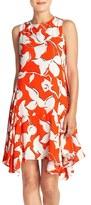 Julia Jordan Georgette Trapeze Dress