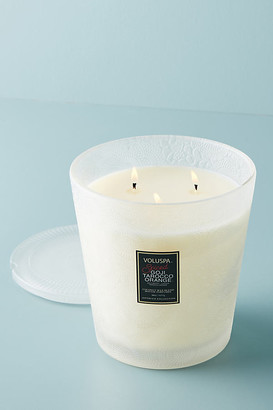 Voluspa Japonica Three-Wick Candle By in Red