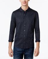 Michael Kors Men's Flecked Jacquard Shirt