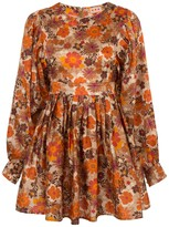 Arnette Lhd LHD dress, floral rust