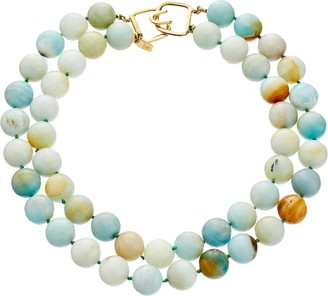 Kenneth Jay Lane 6438 Necklace Jade One Size