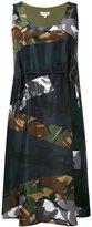 Kenzo camouflage print dress - women - Silk/Polyester - 40