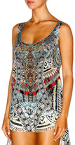 Camilla Printed Scoop Back Tank