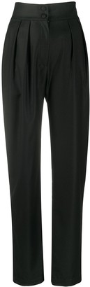 MATÉRIEL Tapered-Leg Wool Trousers