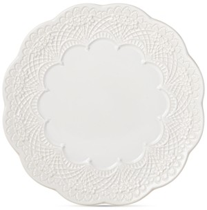 Lenox Chelse Muse Scallop Dinner Plate