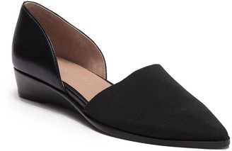 Bettye Muller Concepts Concept Cage Pointed Toe Demi-Wedge Flat