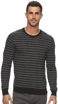 Marc Anthony Men's Slim-Fit Striped Cashmere-Blend Merino Sweater