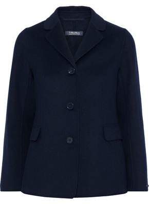 Max Mara Tarallo Wool And Angora-blend Jacket