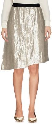 Es'givien Knee length skirts