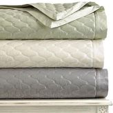 Martha Stewart Cirque Euro Quilted Pillow Sham In Grey - Msrp $95