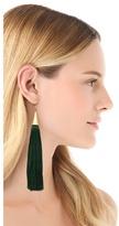 Eddie Borgo Tassel Cone Earrings