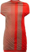 Rick Owens gradient colour block long top