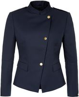 Aquascutum London Military Style Fitted Jacket