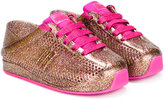 Mini Melissa lace-up sneakers