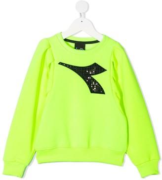 Diadora Junior Embellished Logo Sweatshirt