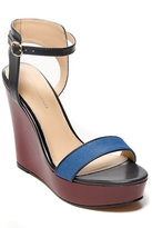 Tommy Hilfiger Final Sale-Calf Hair Platform Wedge