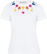 Mary Katrantzou Iven Floral Embellished T-Shirt