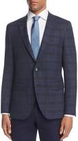 BOSS Plaid Regular Fit Sport Coat