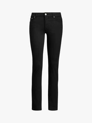 Ralph Lauren Ralph Mid Rise Straight Leg Jeans, Black