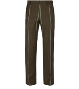 Vivienne Westwood Classic Wool Trousers Brown Check Size 46
