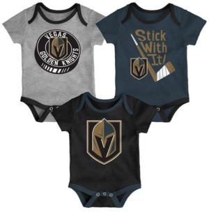 Outerstuff Baby Vegas Golden Knights Cuddle & Play Creeper Set