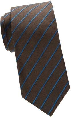 Isaia Retro Stripe Silk Tie