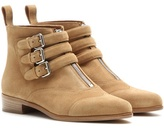 Tabitha Simmons Split Suede Ankle Boots