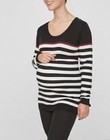 Mama Licious Mamalicious Long Sleeve Nursing Sweater