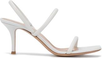 Gianvito Rossi Square Toe Slingback Sandals