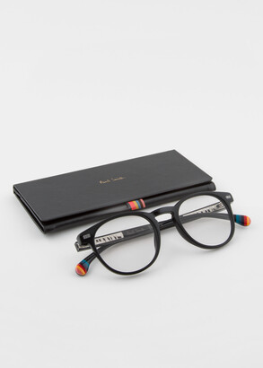 Paul Smith Black 'Darwin' Spectacles