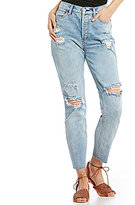 Free People Lacey Stilt Distressed Skinny Jeans