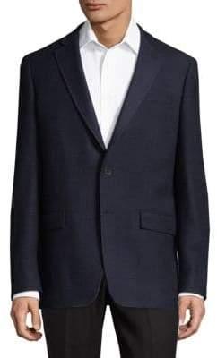 Michael Kors Wool and Silk Blend Blazer
