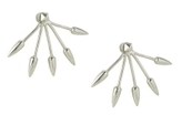 Pamela Love Five Spike Stud Earring