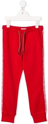 Tommy Hilfiger Junior logo lined track pants