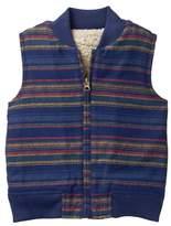 Crazy 8 Stripe Sherpa Vest