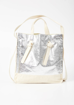 Hope silver knot tote bag
