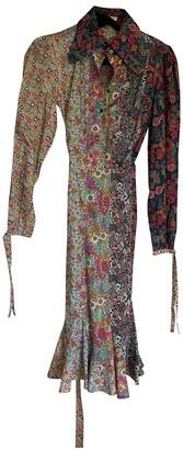 Olympia Le-Tan Olympia Le Tan Multicolour Cotton Dress for Women