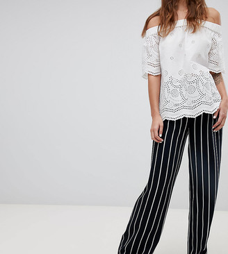 Esprit Stripe Wide Leg Pants