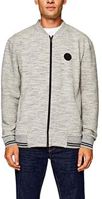 Esprit edc by Men's 088cc2j001 Sweatshirt, Medium Grey 035, XX-Large