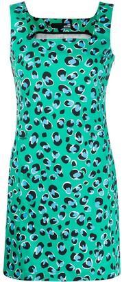 Love Moschino leopard print shift dress