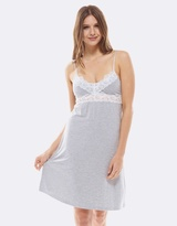 Deshabille Essential Night Dress Grey Marle