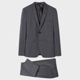 Paul Smith Men's Slim-Fit Grey Crosshatch 'Kensington' Suit