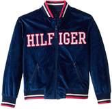 Tommy Hilfiger Velour Track Jacket Girl's Vest