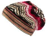 Missoni Women's Stripe Slouchy Beanie - Beige