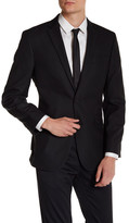 Kenneth Cole New York Texture Two Button Notch Lapel Sport Coat