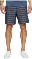 Original Penguin 5 Elastic W/B with Printed Stripe Men's Shorts