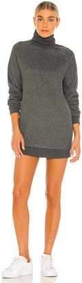 Lovers + Friends Turtleneck Sweatshirt Dress