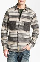 PRPS Horizontal Stripe Flannel Shirt