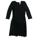 Isabel Marant Black Wool Dress