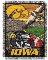 NCAA Iowa Hawkeyes Home Field Advantage College Throw